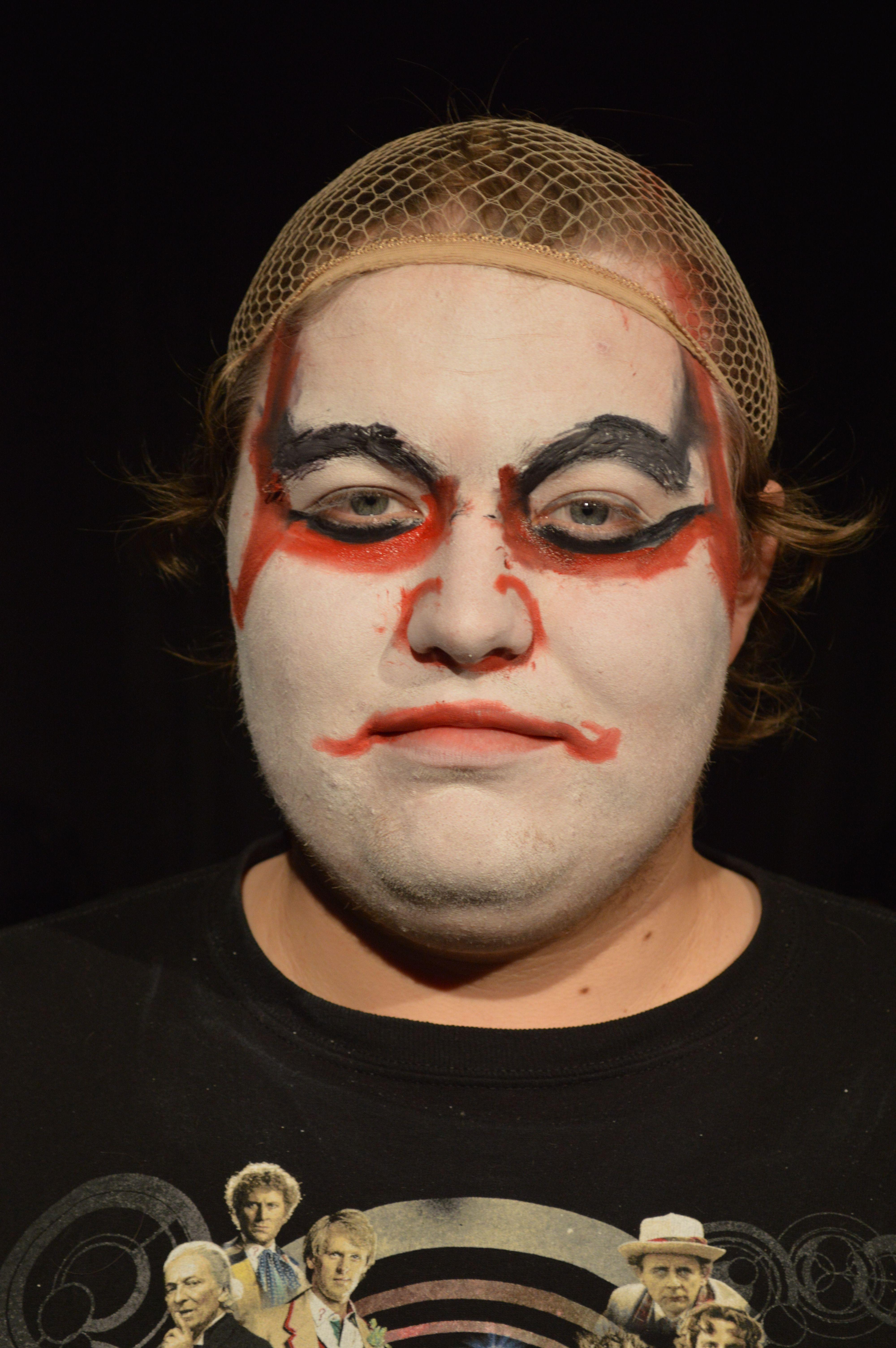 Stuart Wilke Kabuki Makeup Project Photograph Board 20 Kabuki - Kabuki-makeup