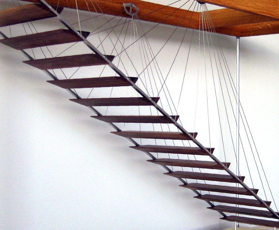 zeitform h ngetreppe sch ner wohnen treppen pinterest treppe wohnen und stiegen. Black Bedroom Furniture Sets. Home Design Ideas
