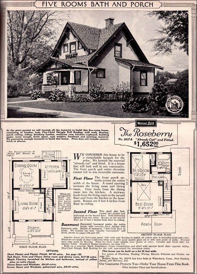 image result for sears house plans - 1919 House Plans