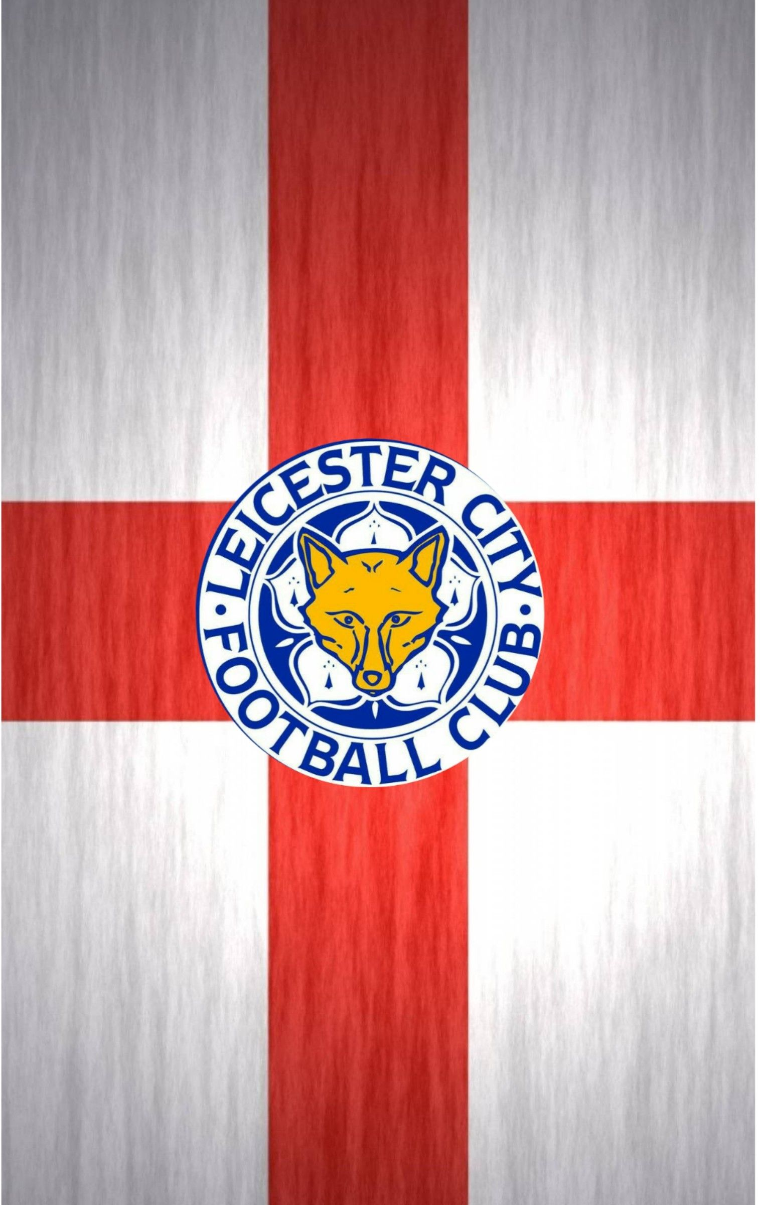 Leicester City F.C CREST Personalised Greetings Card