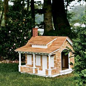 5 doghouses crafted in classic american architecture for Architecture and design dog house