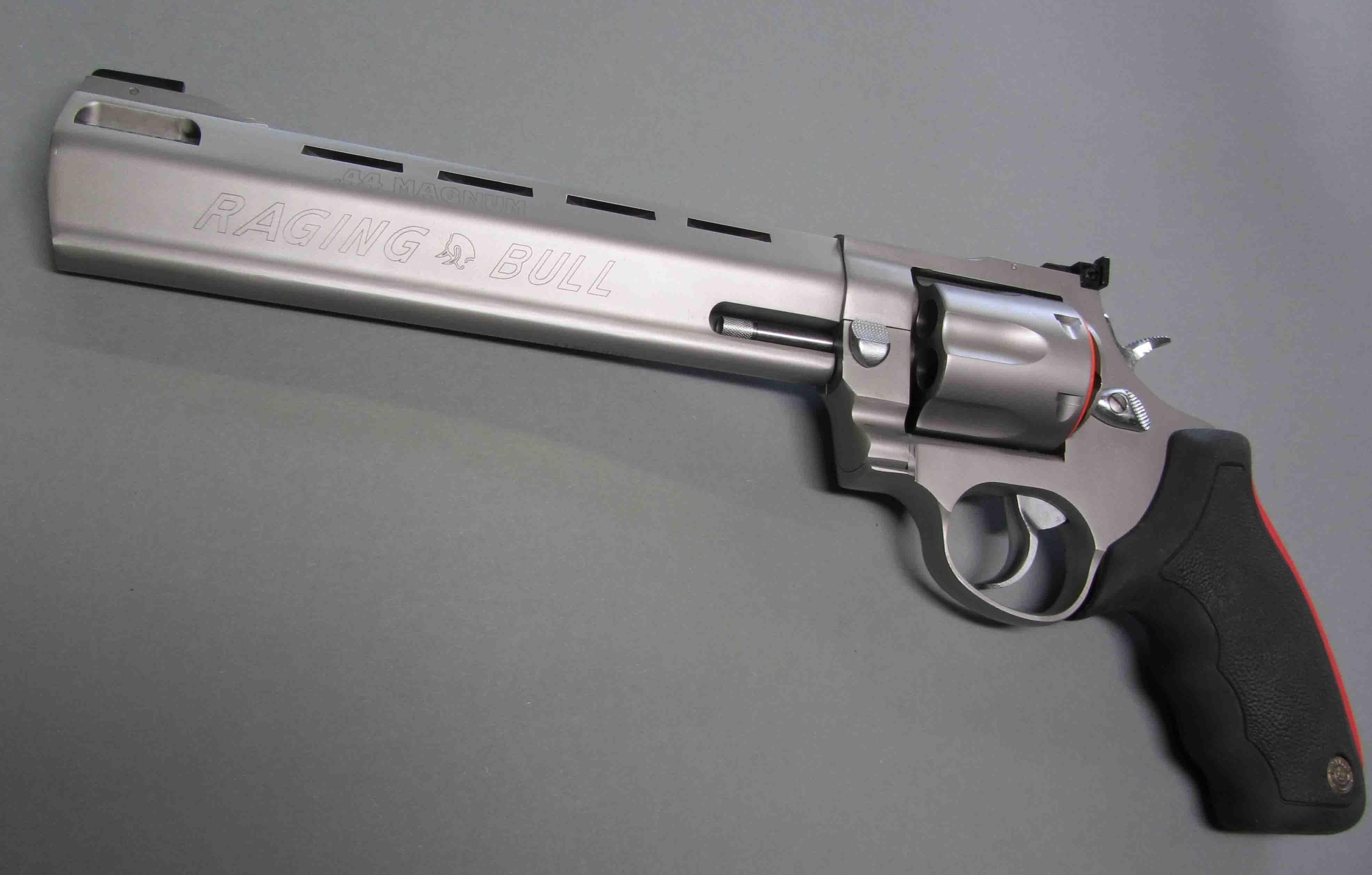 Download Wallpaper Red Black Bull Weapon Gun Taurus Well