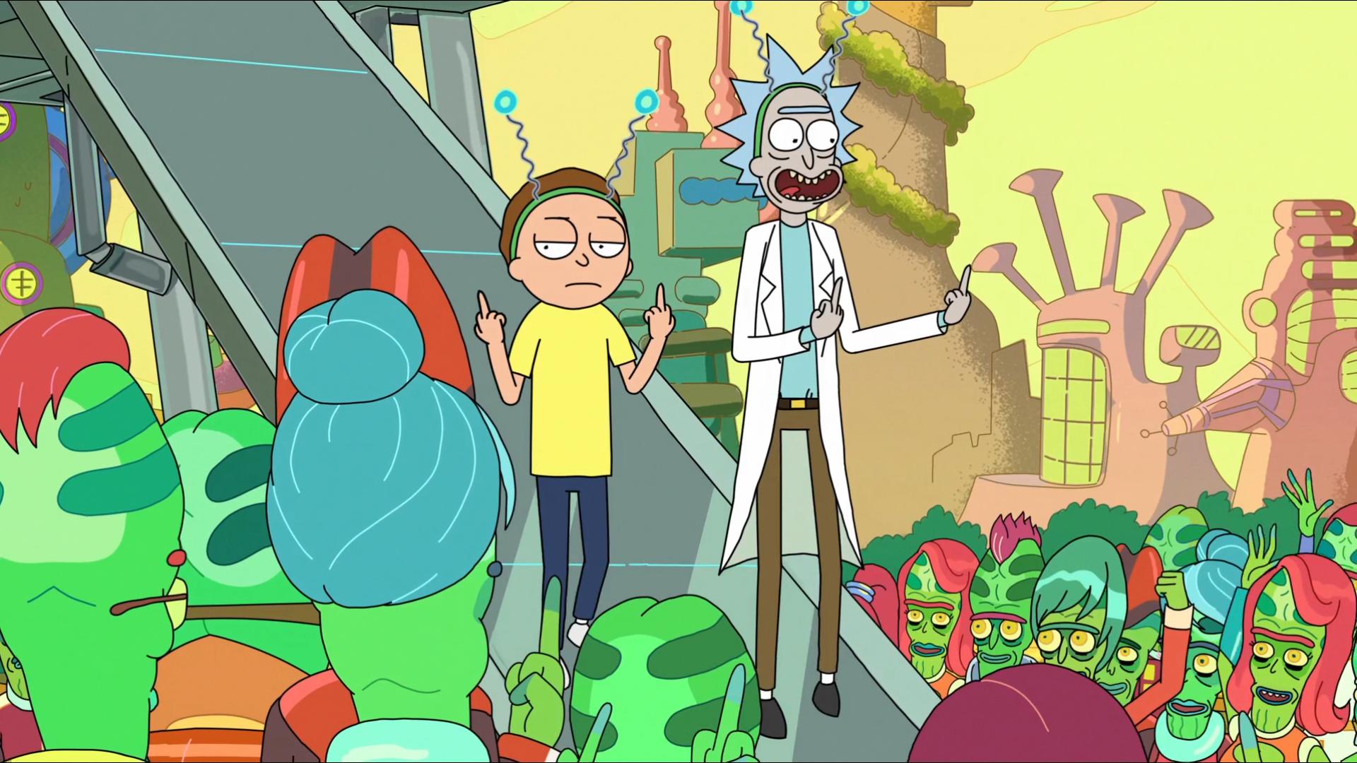 Pin En Rick Y Morty