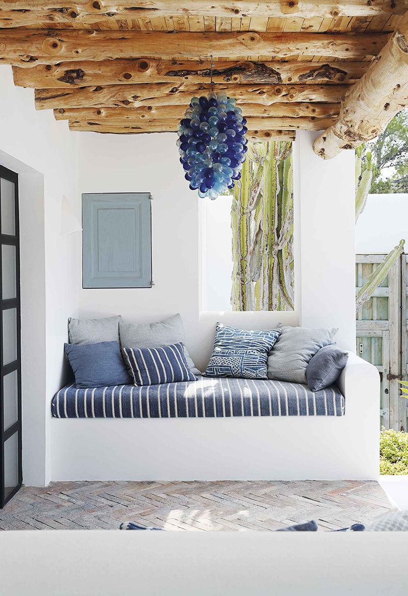 Photo of 〚 White Mediterranean villa with stunning blue tile in Ibiza 〛 ◾ Photos ◾ Ideas ◾ Design