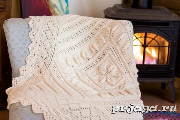 вязаный плед спицами схемы вязания бебешко и детско вязание