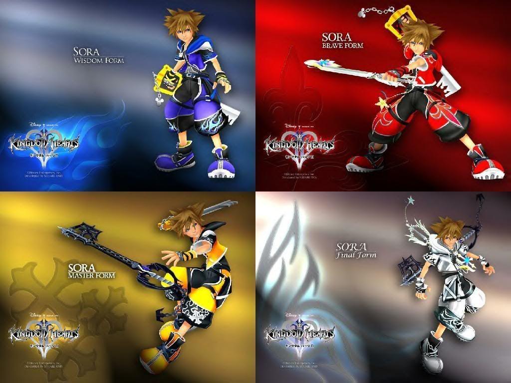Sora S Forms Photo By Terraaquavenxehanort Photobucket Kingdom Hearts Characters Kingdom Hearts Kingdom Hearts Worlds
