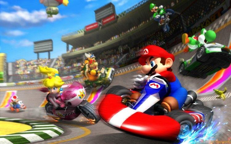 Fonds D Ecran Jeux Video Fonds D Ecran Mario Kart Wii Mario Kart Wii Par Chapopwintu Hebus Com Mario Kart Super Mario Bros Jeux Mario