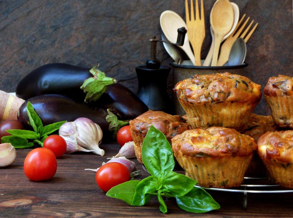 Petits muffins salés végétariens sans gluten - Greenweez magazine
