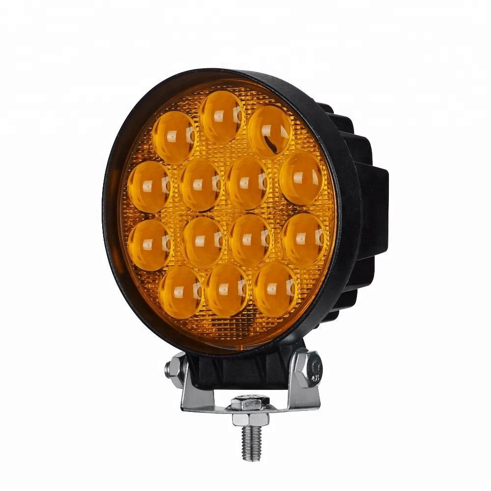 42w 12 Volt Ip67 Waterproof Off Road Car Fog Lights Led Work Light Buy 42w Led Work Light Off Road Work Light Fog Light Led Work Light Led Lights Offroad Led