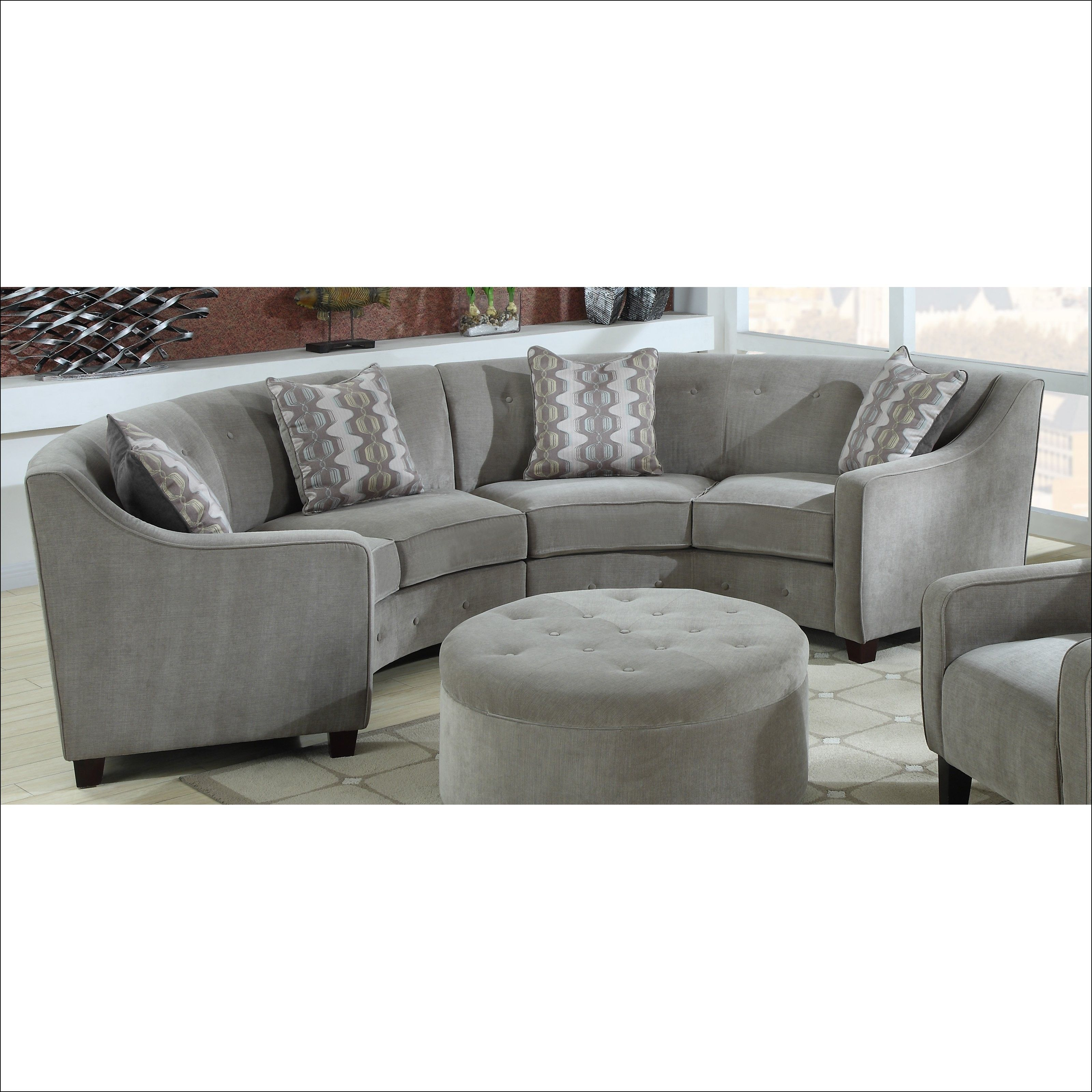 half moon couch furniture emerald