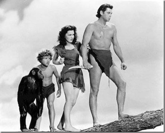 Tarzan & jane cheeta & boy 1975