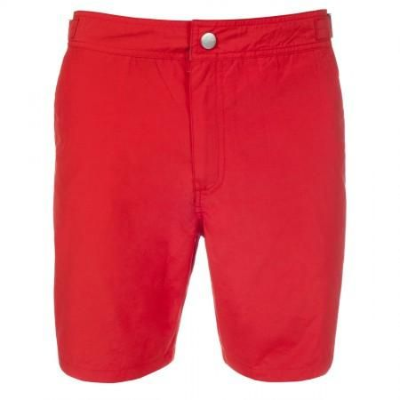 64cdd504e9 Paul Smith Swimwear - Long Slim-Fit Red Swim Shorts | Red Men ...