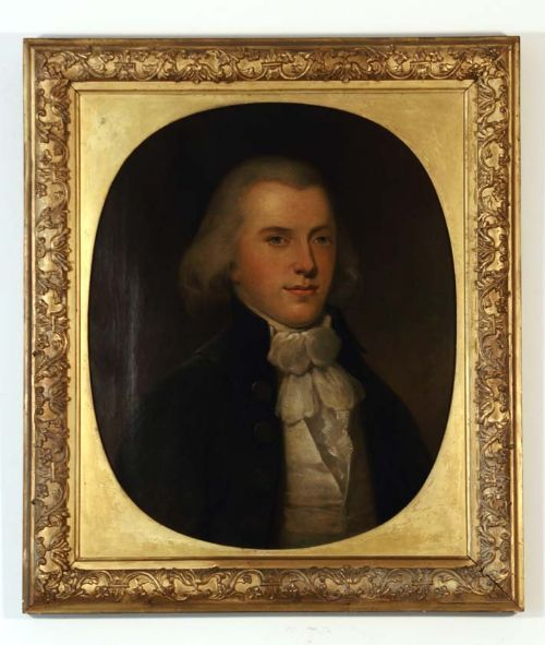 LATE 18TH CENTURY PORTRAIT OF DR JAMES PERRY (D.1824), SURGEON, ABERDEENSHIRE: SCOTTISH SCHOOL