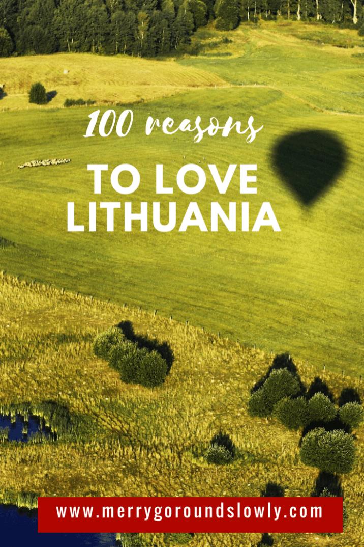 In 2018 Lithuania is celebrating 100 years of its Independence. As a birthday present I have collected 100 reasons to love this country. Vilnius | Kaunas | Druskininkai | Birstonas | Klaipeda | Palanga | Neringa | Trakai | Curonian Spit | Anyksciai | Laju Takas | Treetop Walking Path | Travel Inspiration | Baltics | Eastern Europe | Baltic Sea   #europe #lithuania #lietuva #simtmetis  #love #Baltic #Baltics #easterneurope