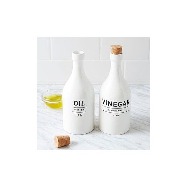 west elm utility kitchen collection oil vinegar set kitchen collection bottles decoration on kitchen organization oil and vinegar id=92645