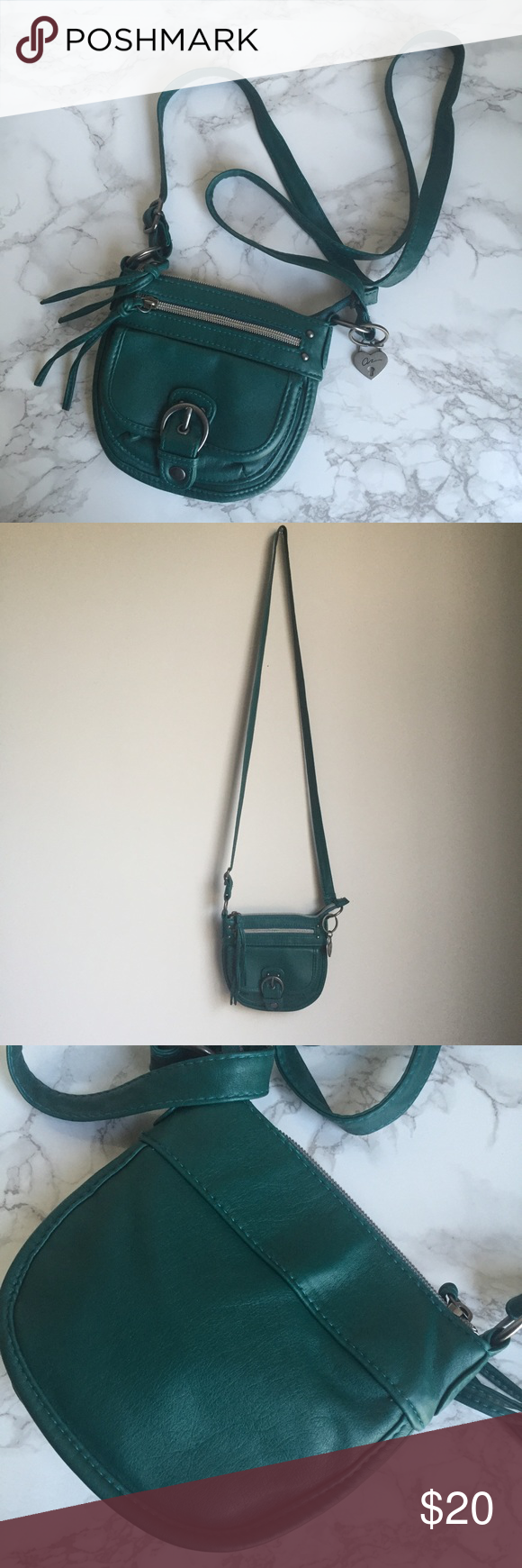American Rag Turquoise Crossbody Purse Adorable Mini Bag Excellent Condition Bags