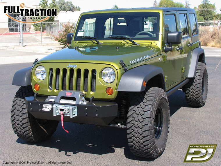 Full Traction 2007 Jeep Jk Wrangler Rubicon 4 Door Unlimited W 3 Lift 35 X 13 50 Wide Tires 3 75 Bs Would Look Amazing On A 2dr Supposedly Doesn T Rub