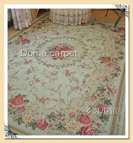 French Country Victorian Traditional Clic Fl Green Floor Rug Area Carpet 6 5 X