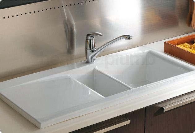 Rak Ceramics Dream Kitchen Sink Dsink1 1 5 Bowl White Best Kitchen Sinks Sink Ceramic Kitchen Sinks