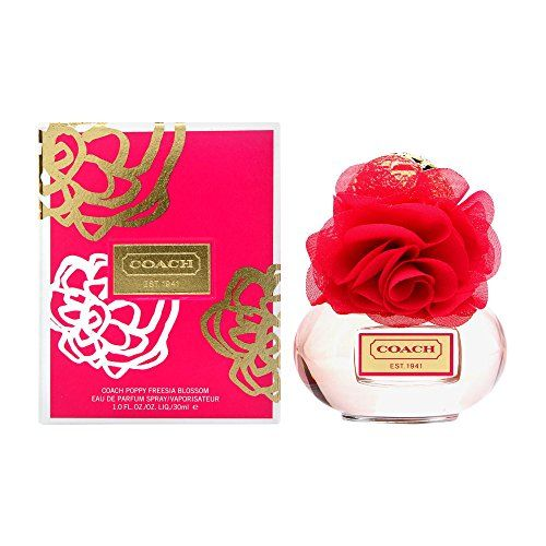 Coach Poppy Freesia Blossom Eau de Parfum Spray, 1 Ounce