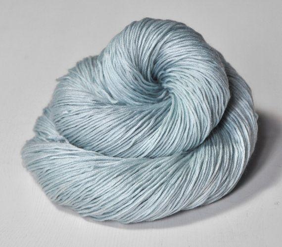 Cool mist OOAK - Silk/Cashmere Lace Yarn