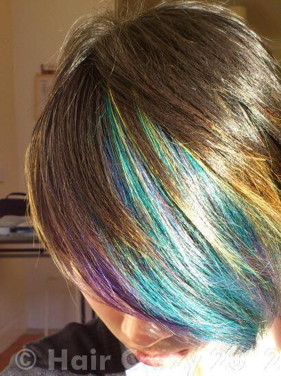 Proxime Capri Blue Emerald Green Peacock Blue Violette