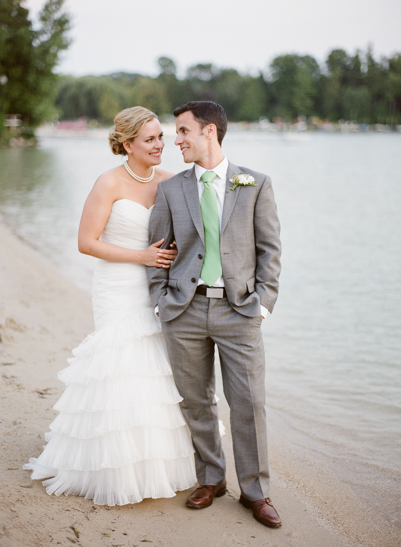 Outdoor Lake Wedding at The Osthoff Resort, Elkhart Lake ...