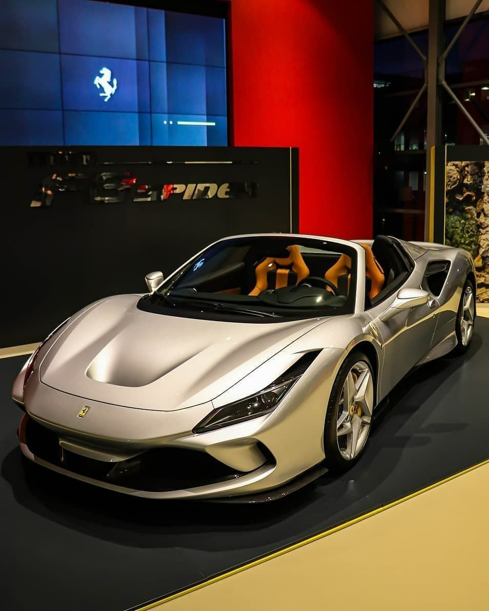 Ferrari F8 Tributo On Instagram Silver Presentation For The F8