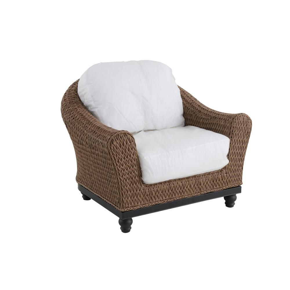 Stupendous Home Decorators Collection Camden Light Brown Wicker Outdoor Caraccident5 Cool Chair Designs And Ideas Caraccident5Info