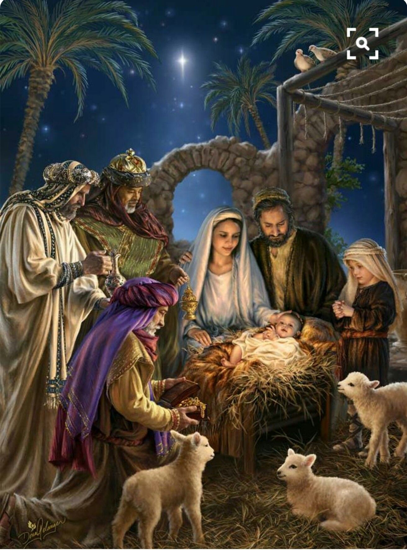 Wise Men found Jesus | Christmas scenes, Christmas ...