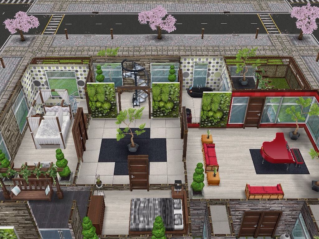 House 88 Level 2 #sims #simsfreeplay #simshousedesign