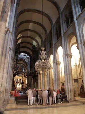 Arte rom nico espa ol arquitectura catedral de santiago de compostela galicia pinterest - Santiago de compostela arquitectura ...