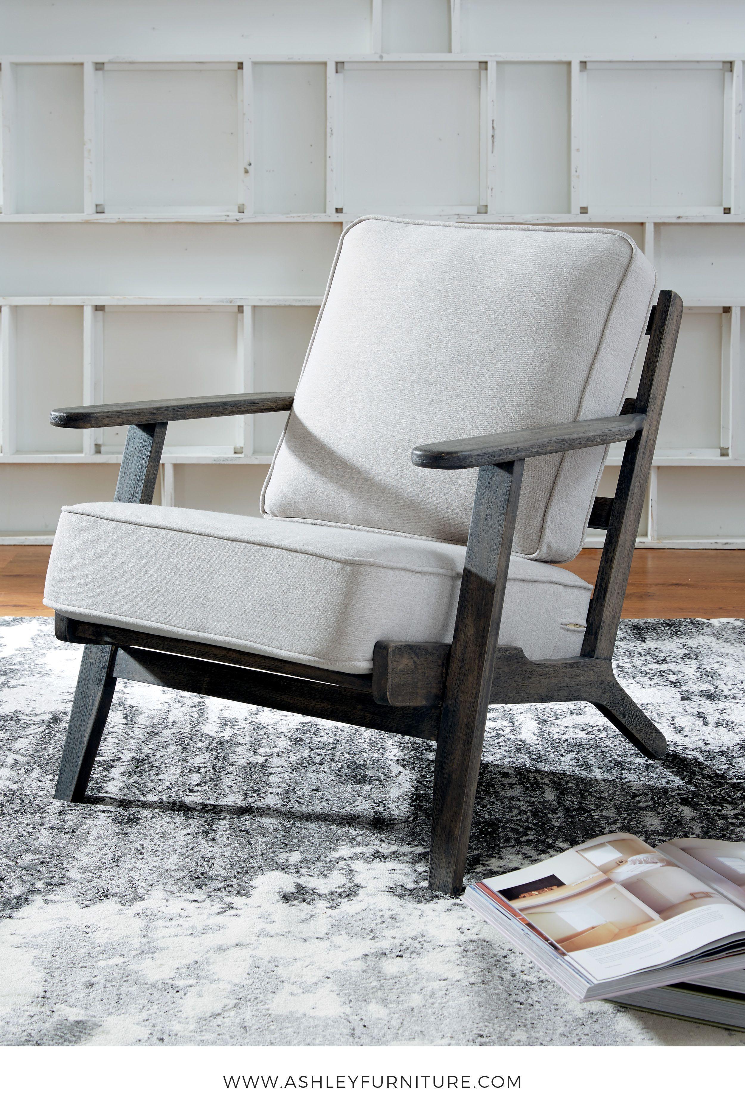 Trebbin Cream Casual Accent Chair By Ashley Furniture
