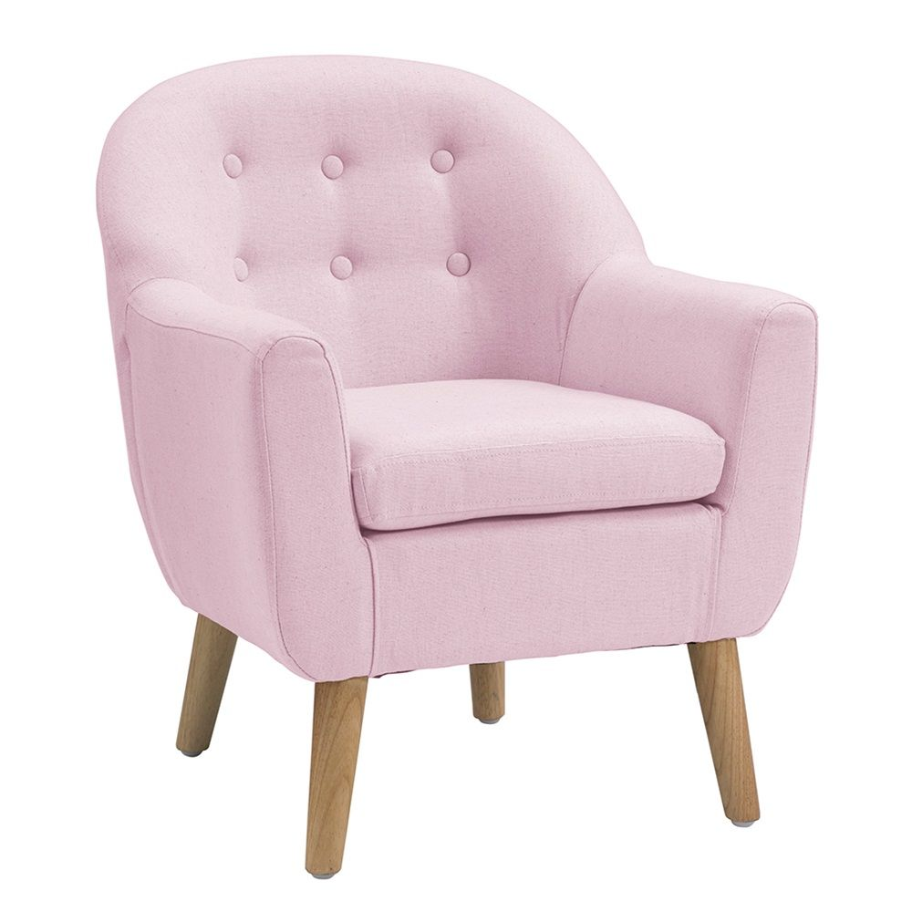Star Kids Tub Armchair In Light Pink Pink Chair Gifts For Kids Kids Accessories Bed Small Chair For Bedroom Kids Armchair Childrens Bedroom Furniture