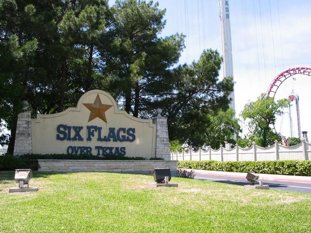 Six Flags Over Texas Arlington Tx Six Flags Over Texas Six Flags How To Memorize Things