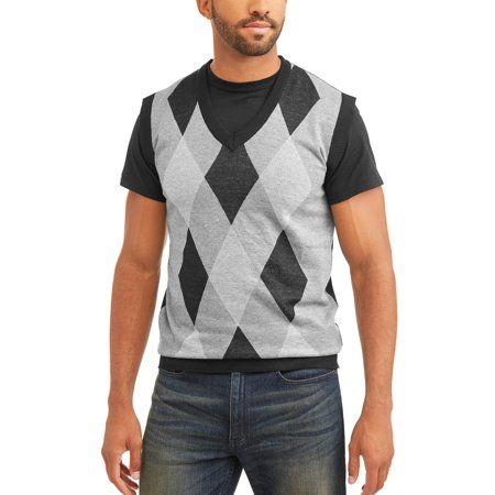 a5b56878e Sahara Club Men s Argyle Sweater vest