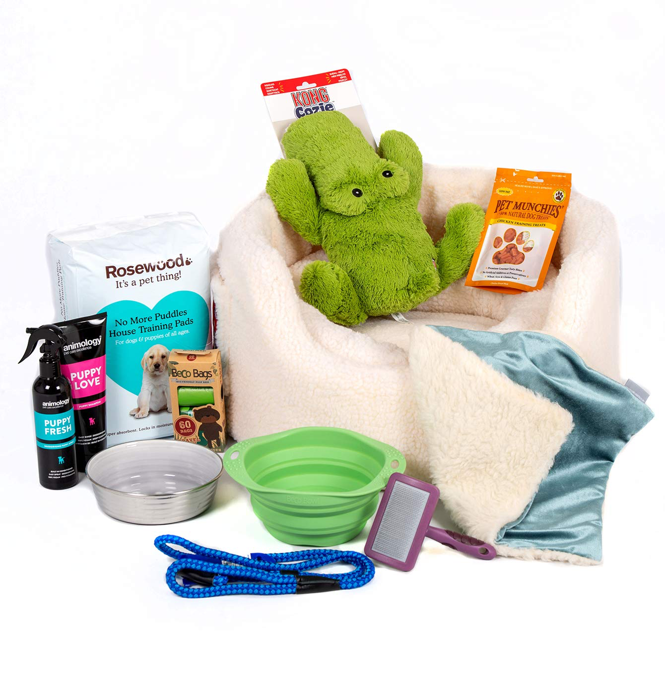 Get everything you will need for your new puppy all in one