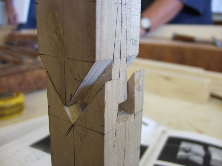 Japanese Splicing Wood Joint Exhibit 2 Wood Joinery