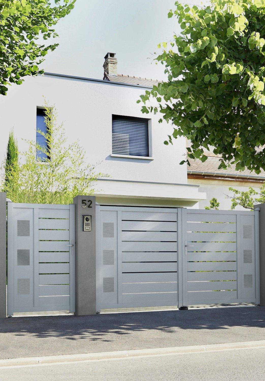 Portail Battant Aluminium Catane Catane Portail Lapeyre
