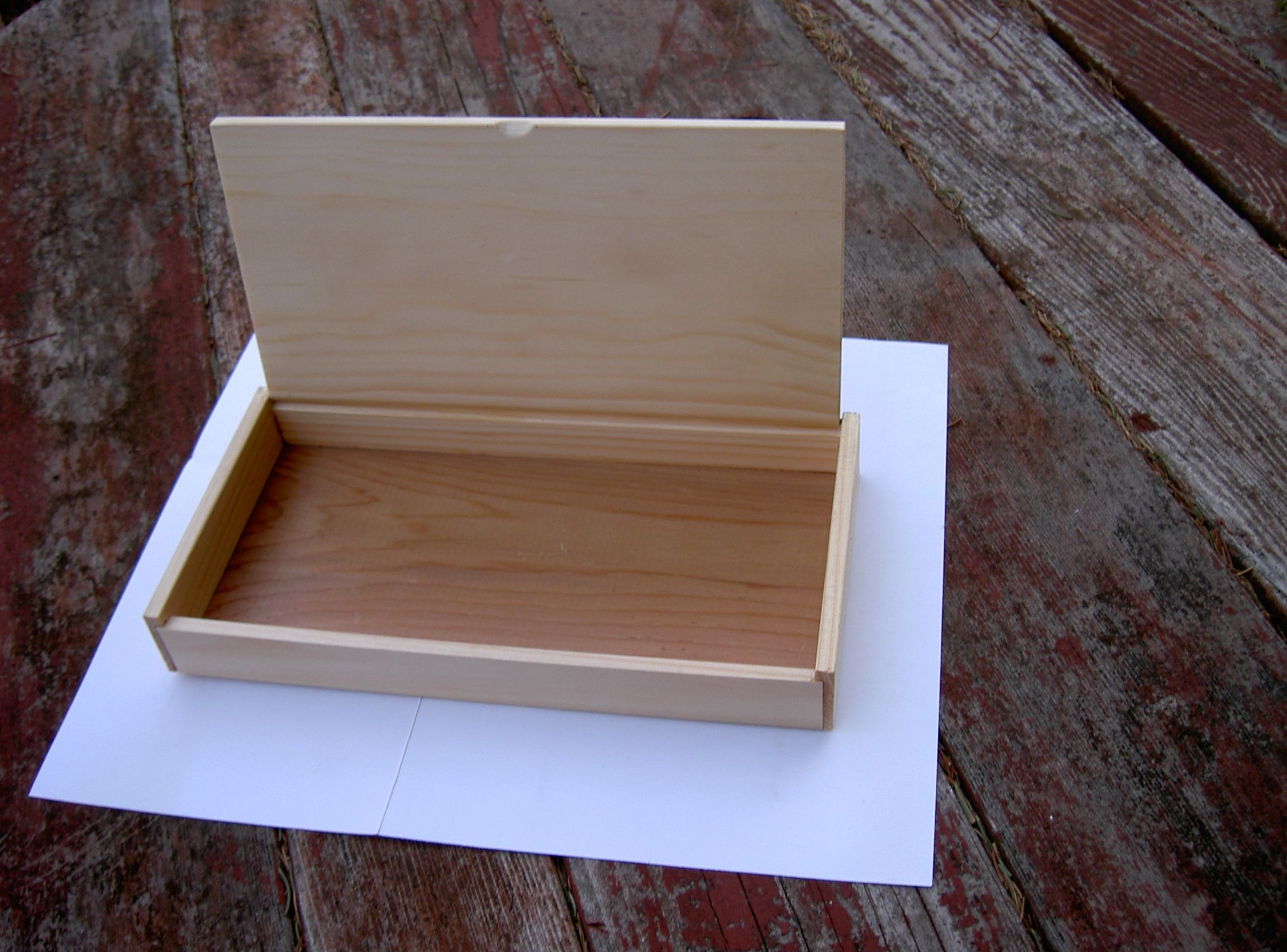 Wooden Box With Hinged Lid Wooden Hinges Wooden Boxes Wooden Box With Lid