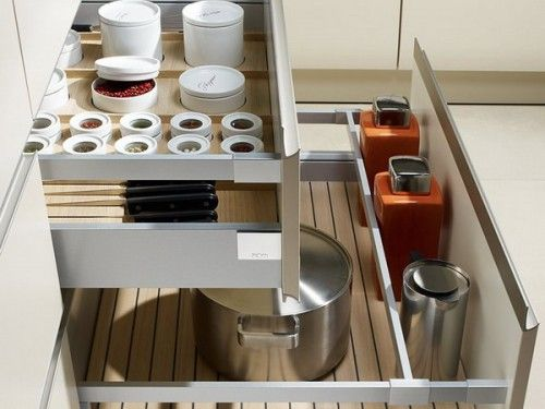 f r schubladen orga in der k che kitchen pinterest schubladen aufbewahrung k che und. Black Bedroom Furniture Sets. Home Design Ideas
