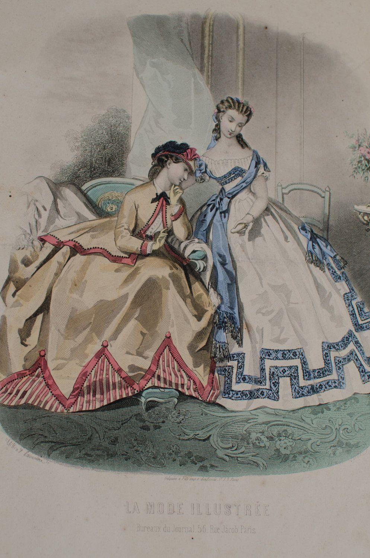 1864 - La Mode Illustrée