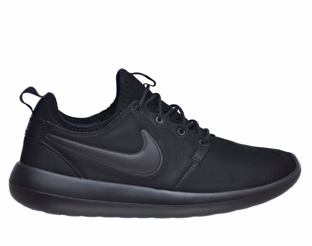 Nike Roshe Run Two 2 Mens Shoes 12 Triple Black 844656 001 ...