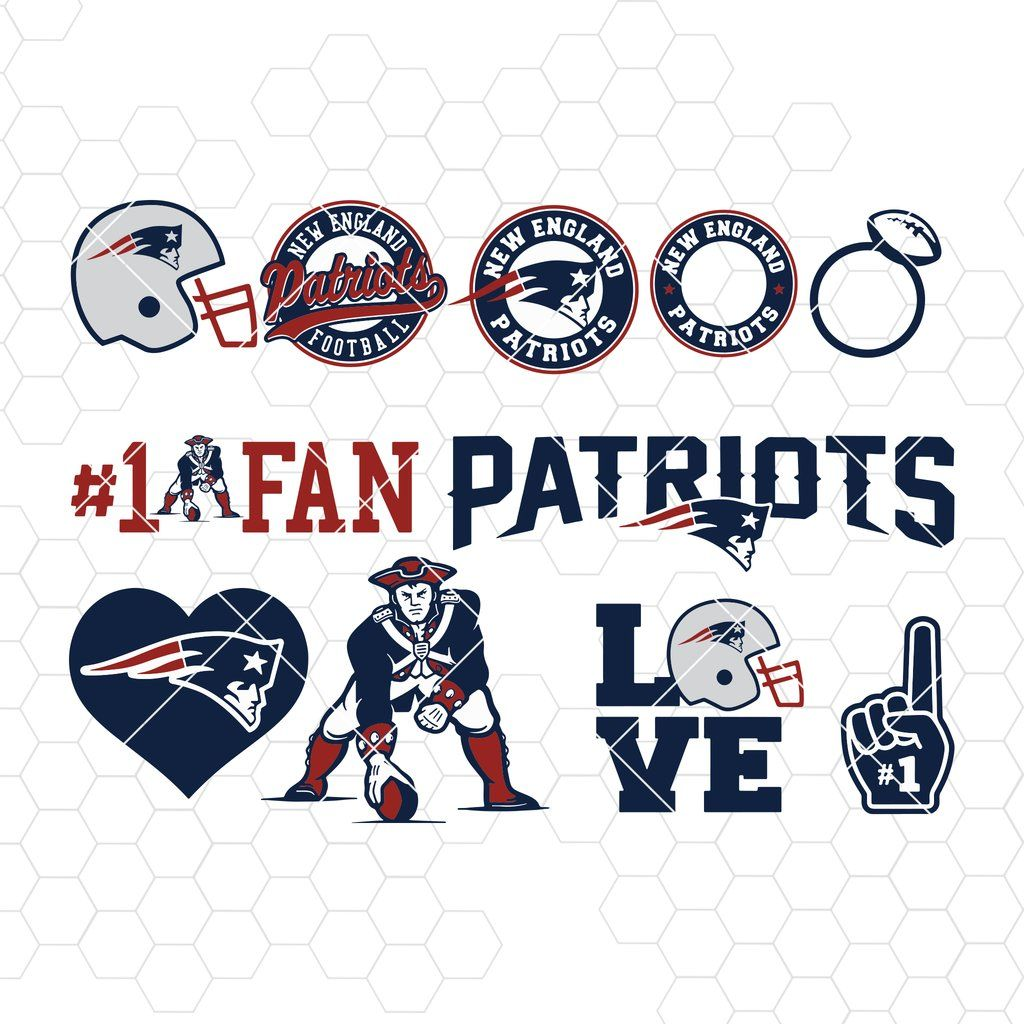 New England Patriots Svg New England Patriots Files Patriots Logo Football Silhouette Cameo Cricut Digital Clipart Layers Png Dxf Ai