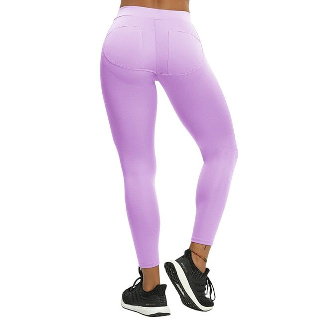 c7d39c8d2434b Oberlo - NORMOV S-XL 3 Colors Casual Push Up Leggings Women Summer Workout  Polyester