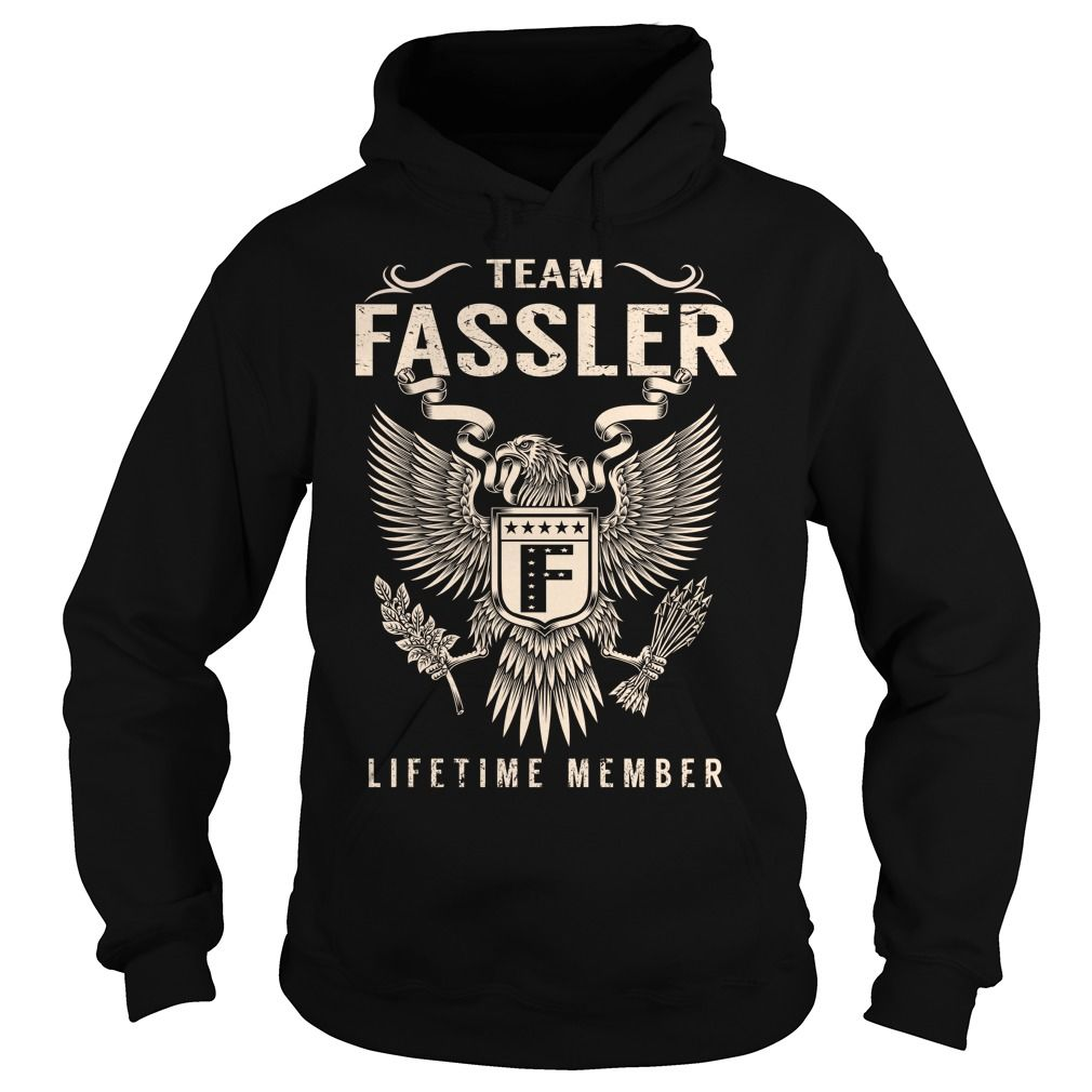Team FASSLER Lifetime Member - Last Name, Surname T-Shirt