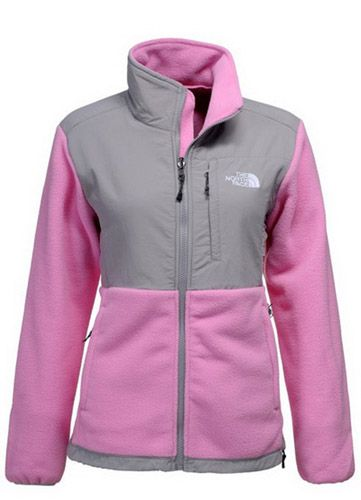 5a3f2177e1d4 Womens The North Face Denali Fleece Jacket Light Pink  70