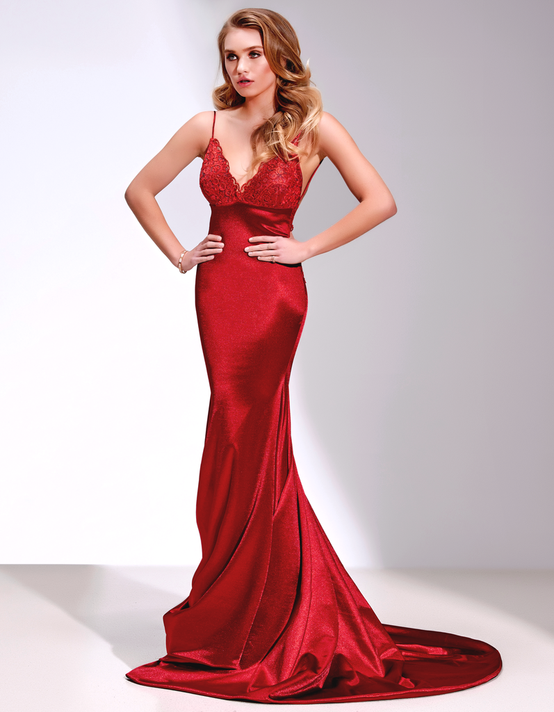 Prom dresses champagne prom evening dress red backless prom gowns