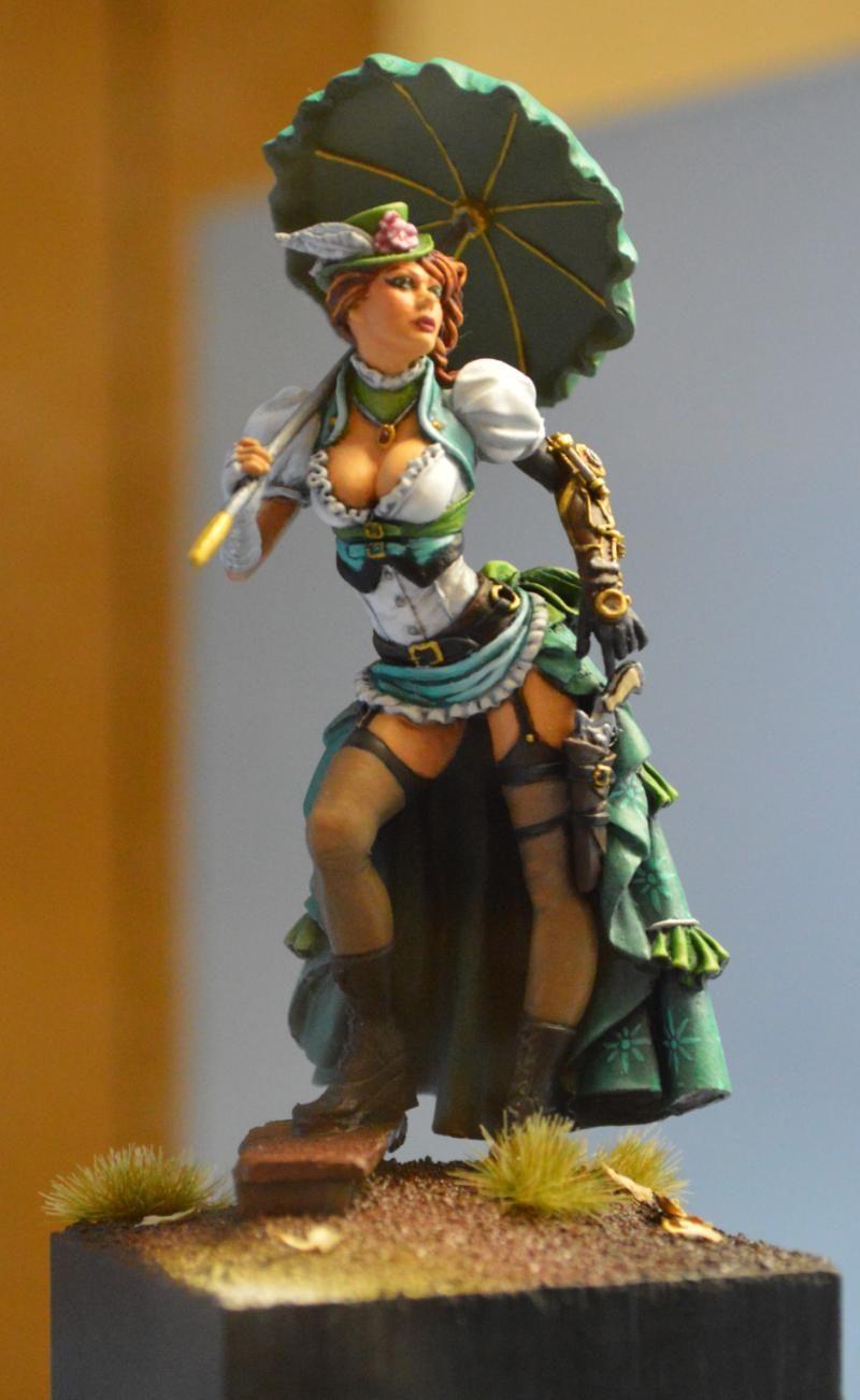Adepticon 2014 Crystal Brush Female Steampunk Amazing