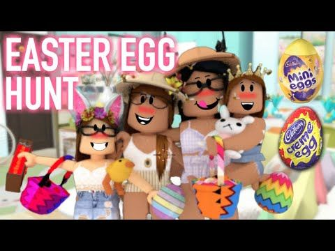 Roblox Easter Egg Hunt 2019 Youtube Roblox Free Kid Games - Family Easter Egg Hunt Roblox Bloxburg Iiarabellaa